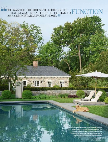 Splendid sass victoria hagan design in connecticut for Pool designs victoria