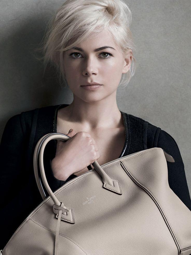 Michelle Williams \ Louis Vuitton #styleschool #fashion #styling