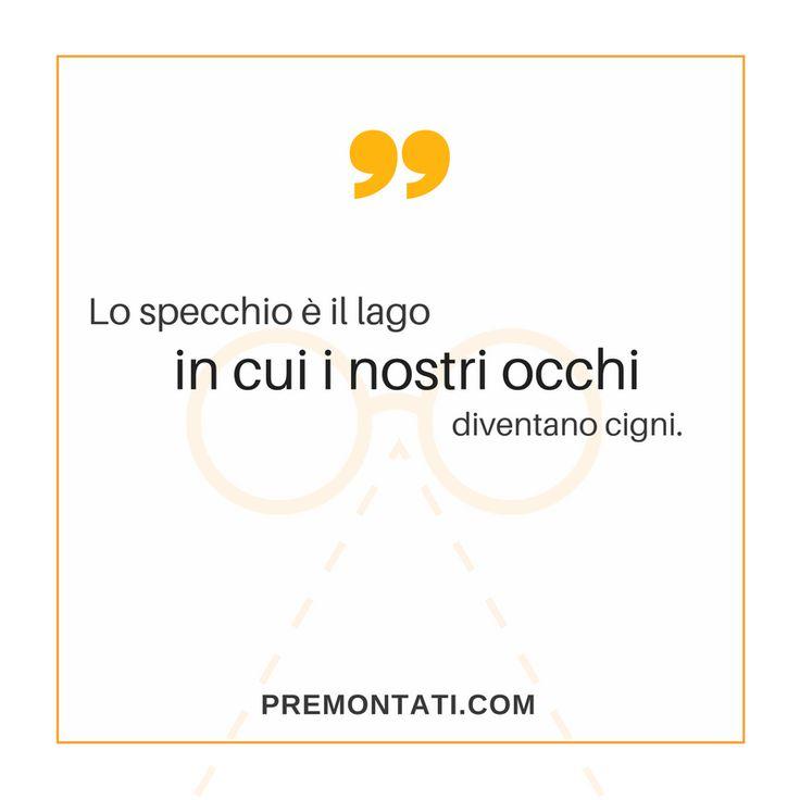 E' guardandoci allo specchio che ci perdiamo nella vanità. ✨ ➡️ SCONTO -50% sul primo ordine di occhiali. Vai su Premontati.com