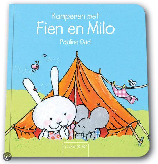 Kamperen met Fien en Milo