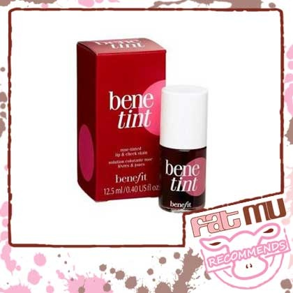 BENEFIT'S BENETINT....a favourite amongst Holly and Bollywood Stars. This cheek and lip stain gives you a natural flushed look that stays in place. Available at Sephora Delhi and at the moment Beautiful in Khar. Big MU thumbs up!