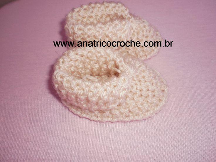 www.anatricocroche.com.br : Sapatinhos em trico