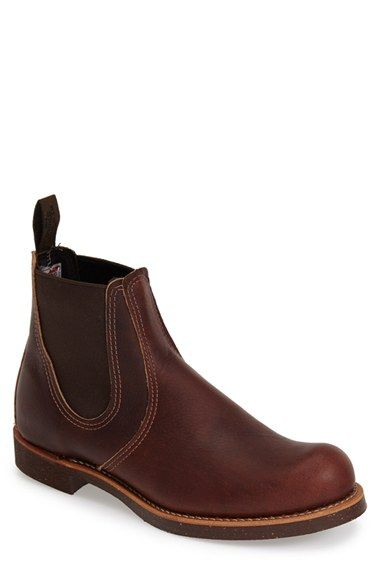 Red Wing Chelsea Boot (Nordstrom Exclusive) (Men) available at #Nordstrom