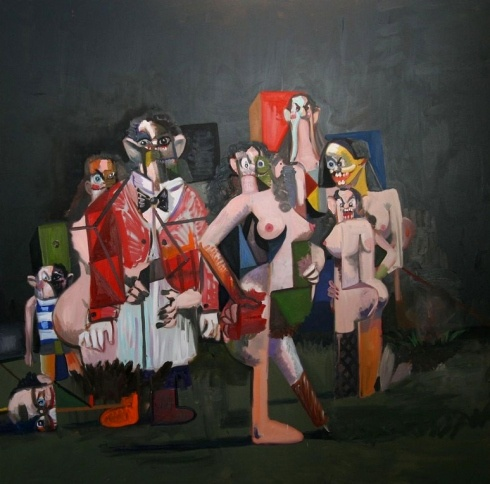 Art by George Condo. #art