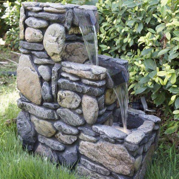 """Trappfontän """"Stentre"""" - med LED-belysning i avsatserna som gör att den är fantastiskt vacker även när det är mörkt  Förgyll din trädgård och gör den till din egen oas! Se fontänen här  http://ift.tt/1WaAQhg  #inredahemma #heminredning #inredning #inreda #trädgård #fontän #fontäner #fountain #fountains #garden #gardendesign #gardendecor #gardendecoration #gardening #homeinspo #homedecor #homedesign #homedecoration #homefashion #interior #interiors #interiorinspiration #interiordesign…"""