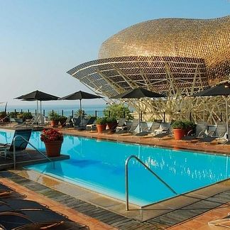 Hotel Arts, Barcelona, Spain. | The 21 Most Awesome Hotel Views On Earth