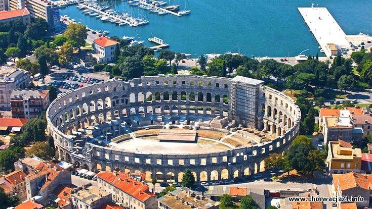 Pula i jej Colloseum to najbardziej popularne miejsce na Istrii #istria #pula #colloseum #croatia #chorwacja http://www.chorwacja24.info/istria/pula