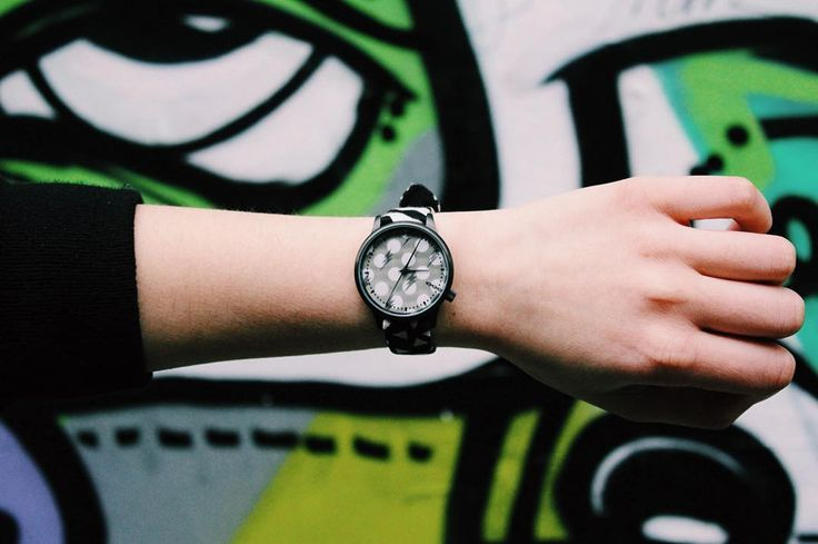 """Keeping an eye on the time thanks to @komono & @happysocksofficial #komonoxhappysocks"""