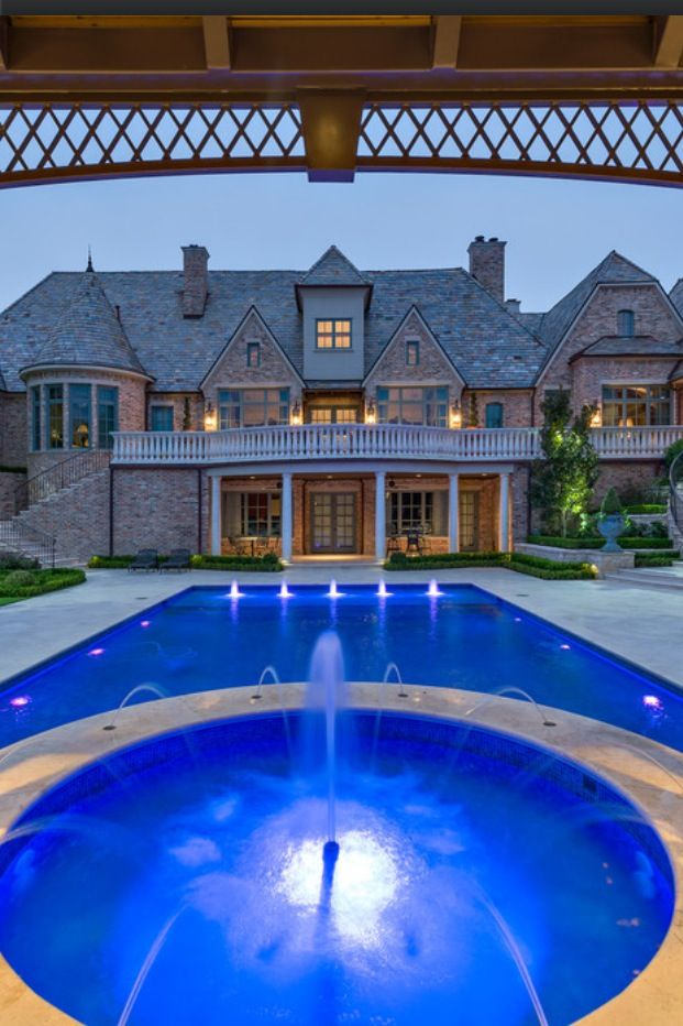 155 best images about mansions inside and out on - What do dreams about swimming pools mean ...