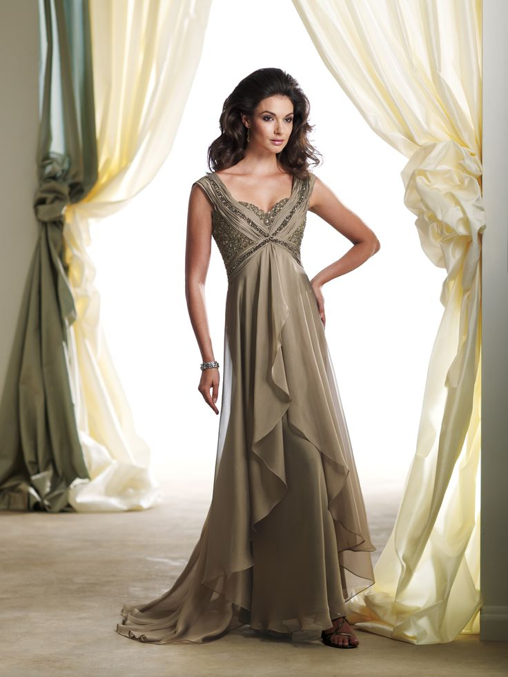 Cocoa Mother of the Bride Dress