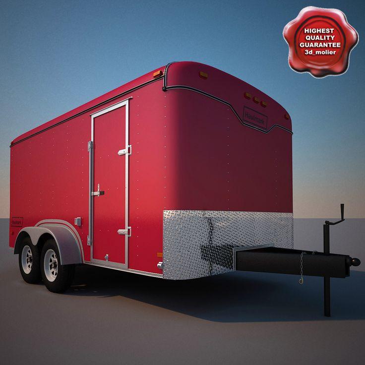 3D Model Haulmark Cargo Trailer - 3D Model