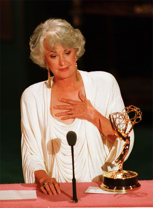 36 best gilfs images on pinterest older women mom and for Why did bea arthur leave golden girls