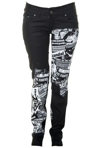 Jist Scandalous Women's Stretch Skinny Jeans (Black)
