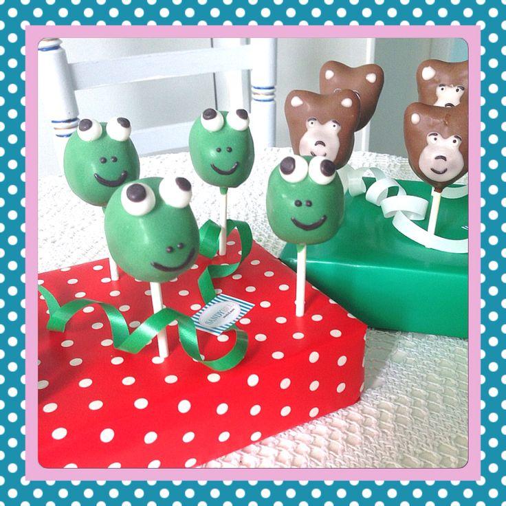 Tierische leckere Cake Pops #sandybel #cakepops #tierisch #nuernberg #fuerth