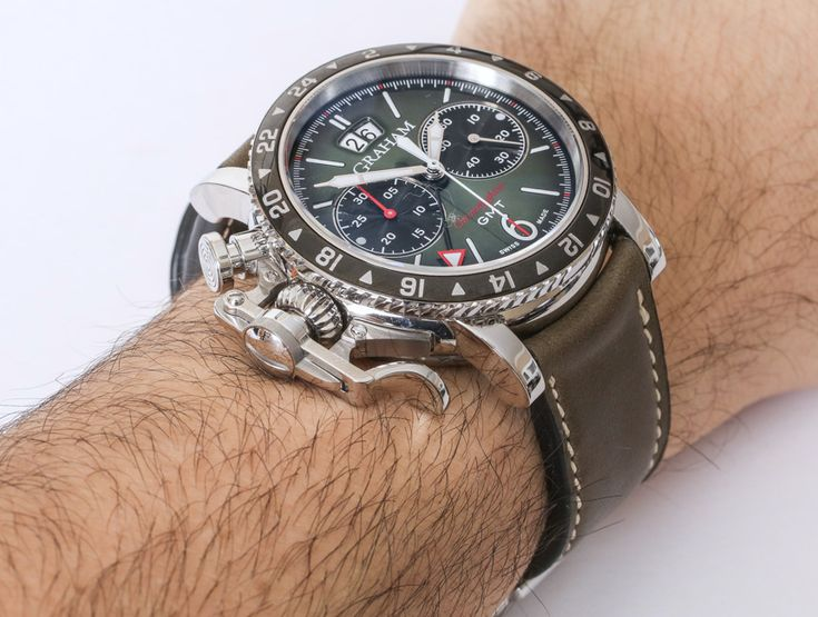 Graham Chronofighter Vintage GMT Watch Review