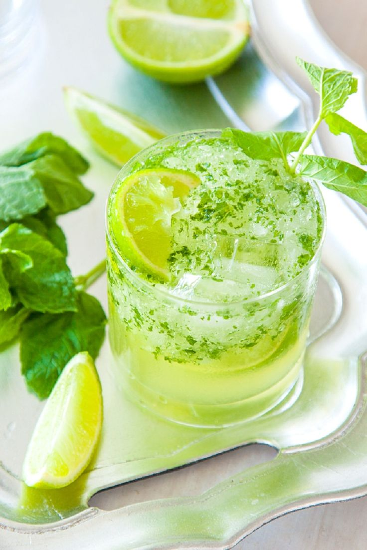 Tequila Mojito Cocktail