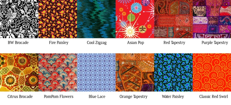 Patterns for Ancient Chinese Paper Blocks. via Etsy.