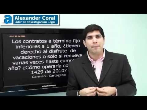 video derecho alas vacaciones en colombia