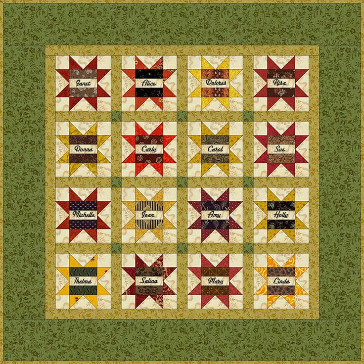 17 best Friendship Blocks images on Pinterest   Friendship ... : friendship quilt block pattern - Adamdwight.com