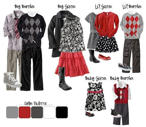 Susan's Scrapbook Shack: What To Wear to a Photo Shoot