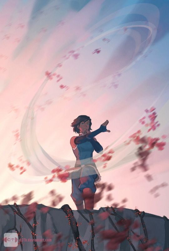 Legend of Korra: being the leaf