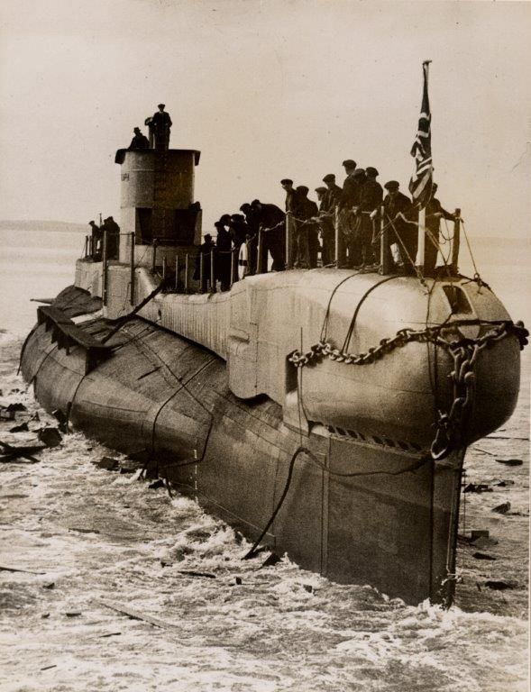The quest for the lost submarine: HMS Triumph, mysteriously sunk in 1942 in the Aegean Sea, Greece