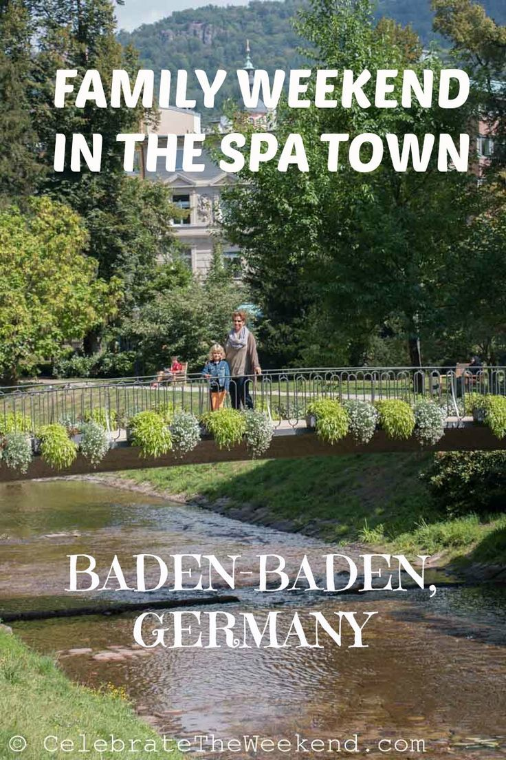 Family Spa weekend in a dreamy Baden-Baden, Germany: taking in the waters, the culture and the nature