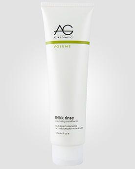 AG Hair Cosmetics Кондиционер для придания объема тонким волосам AG Thikk Rinse Volumizing. 178 мл.