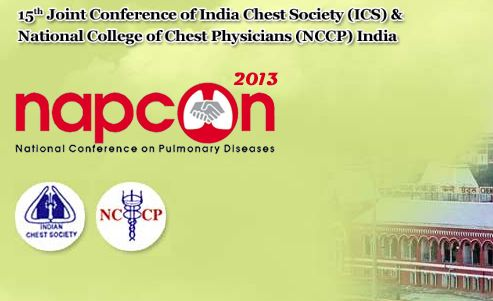 Napcon is the National Conference on #pulmonary diseases. The 2013 edition was the 15th Joint Conference of India Chest Society and National College of Indian Chest Physicians. The #scientific committee proposed a skill based program covering recent advances in pulmonary #medicine, critical care, #sleep medicine and pulmonary infections.