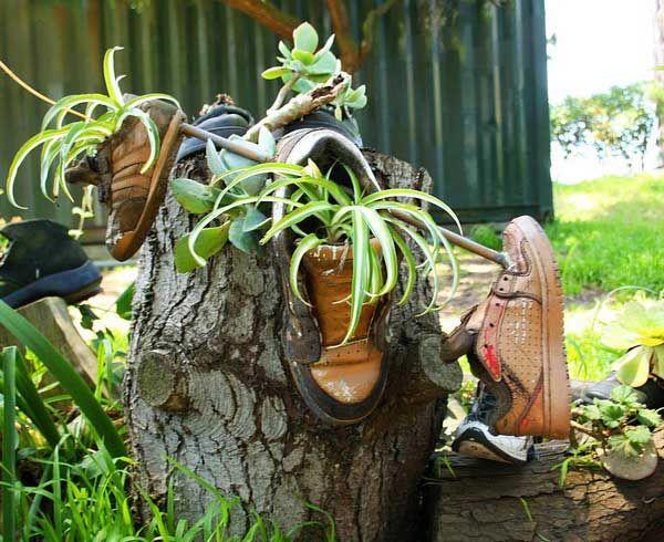 eski-cizme-ve-ayakkabilardan-saksi-yapimi-(5) -