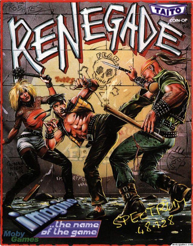 Renegade // Ocean #8bit #spectrum #cover #retrogames
