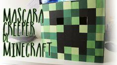 Máscara de Minecraft para tu disfraz de Halloween