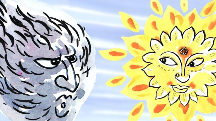 The Wind and the Sun: Learn Spanish with subtitles - Story for Children ...