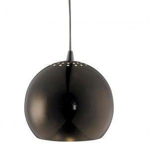 Lampa wisząca Elba - czarny chrom