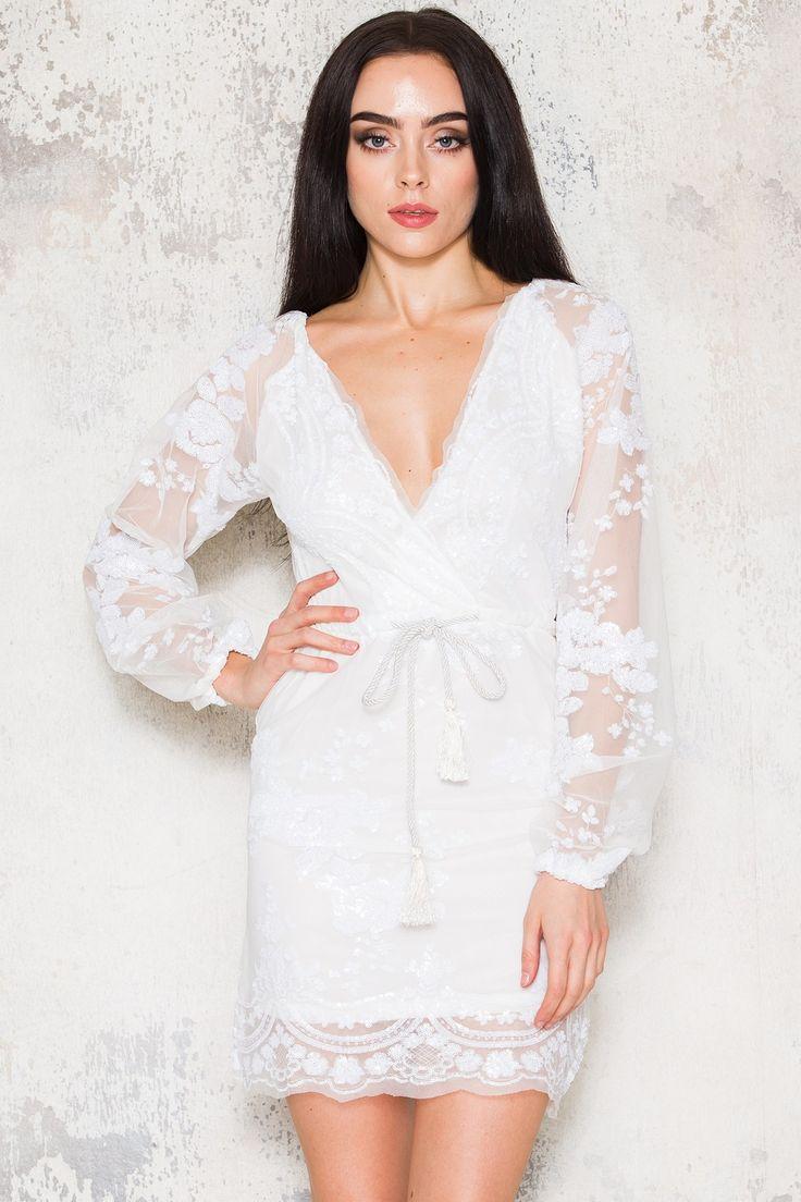DM Secrets Dress - White