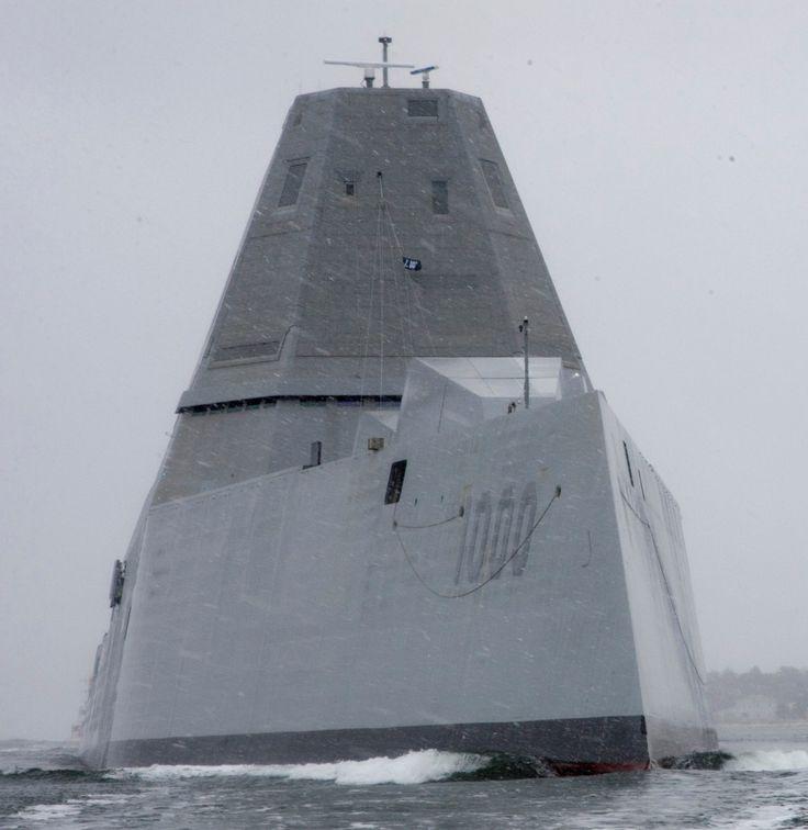 USS Zumwalt DDG-1000 Guided Missile Destroyer US Navy