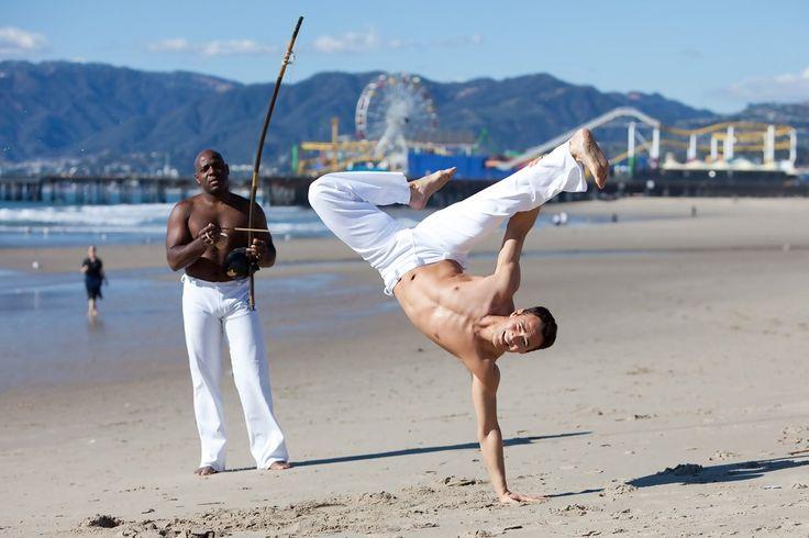 Mark Dacascos Takes Capoeira Lessons