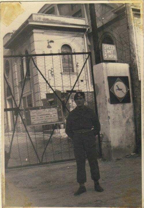 1952, Caserma de San Giovanni , GMA nel Free Territory of Trieste .