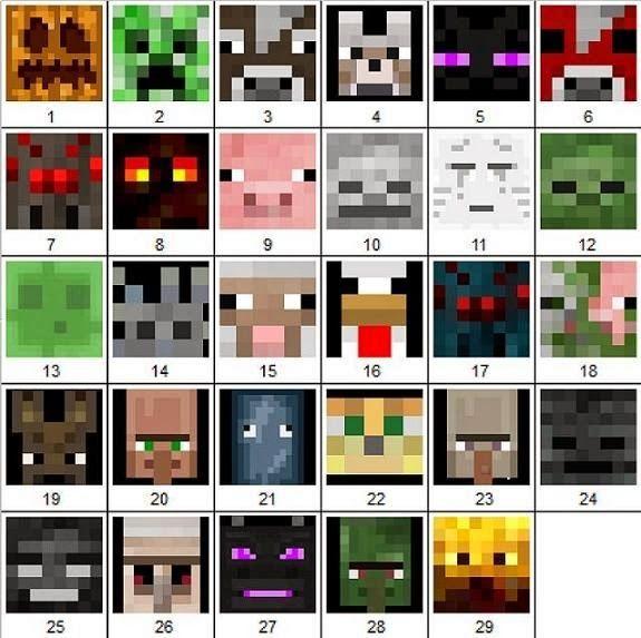ARTE COM QUIANE - Paps,Moldes,E.V.A,Feltro,Costuras,Fofuchas 3D: Moldes de todos os personagens do Minecraft - 42 moldes