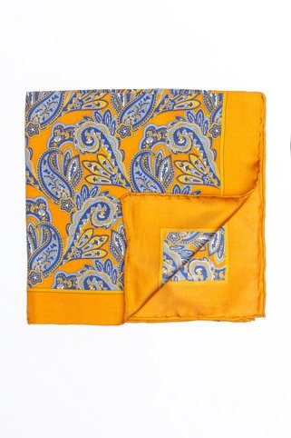 Imperial Paisley Pocket Square