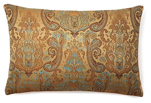 Dransfield & Ross, Petra 16x24 Pillow, Mink polyester  95 - orig. 250
