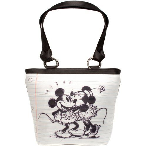 Harveys Seatbelt Bag Carriage Ring Tote Disney Mickey and Minnie Mouse in Love HARVEYS