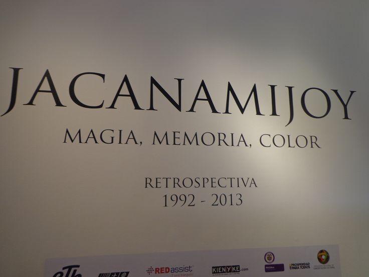 Comienzo de las obras de Carlos Jacanamijoy
