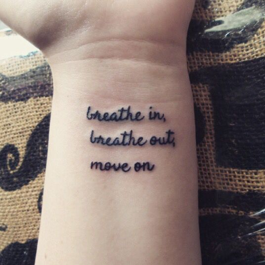 Best 25+ Breathe Tattoos Ideas On Pinterest