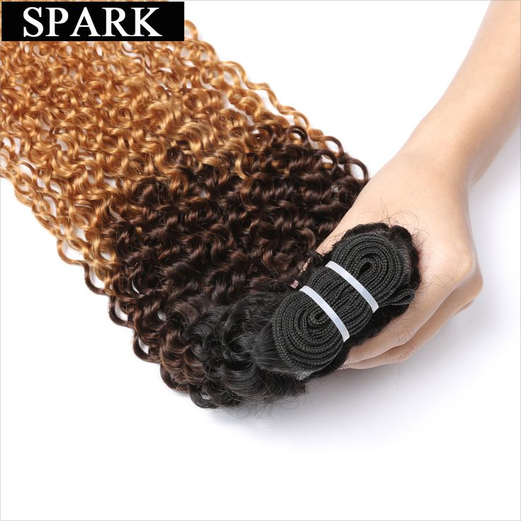 New arrival: Spark 3 Tone Ombr... Buy it now: http://simplysonya731.net/products/spark-3-tone-ombre-brazilian-remy-hair-t1b-4-27-kinky-curly-weave-human-hair-extensions?utm_campaign=social_autopilot&utm_source=pin&utm_medium=pin