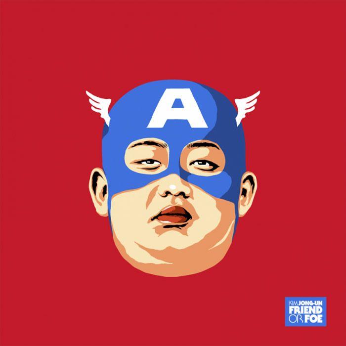 Kim Jong-Un: Friend or Foe – Illustrations by Butcher Billy | Inspiration Grid | Design Inspiration