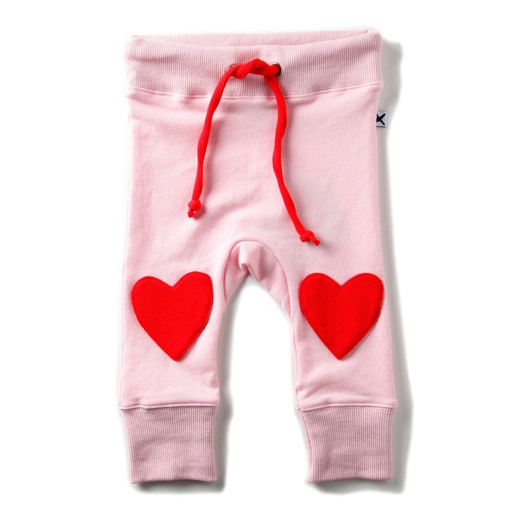Minti Heart Knee Trackies