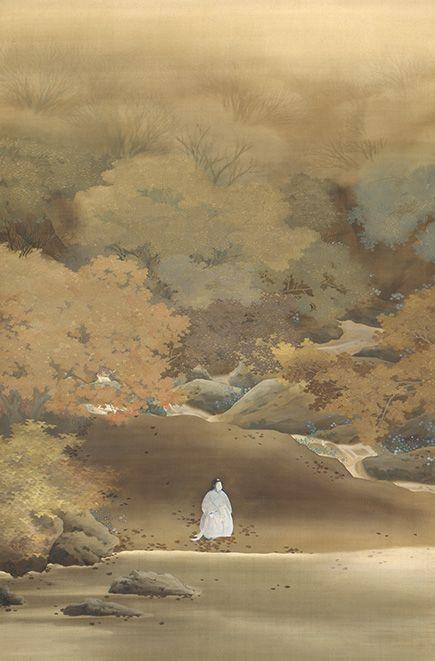 菱田春草 Shunso Hishida『菊慈童』(1900)飯田市美術博物館蔵