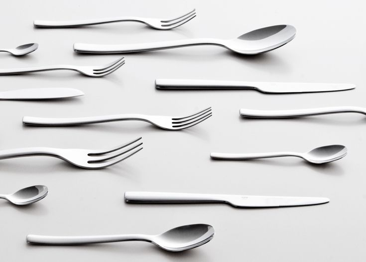 """When you treat it seriously, exactly like a typeface, you need to do every piece: the very small spoon, the half spoon, the middle spoon, the big spoon, the big big spoon and so on. So you have to go through the full exercise,"" he added.     Ovale cutlery by Ronan and Erwan Bouroullec for Alessi"