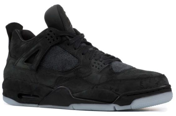 KAWS x Air Jordan 4 -Black